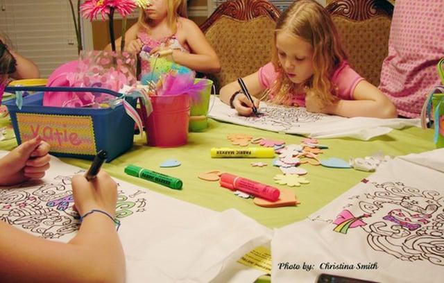טיפים ורעיונות למסיבת פיג'מות - יצירה