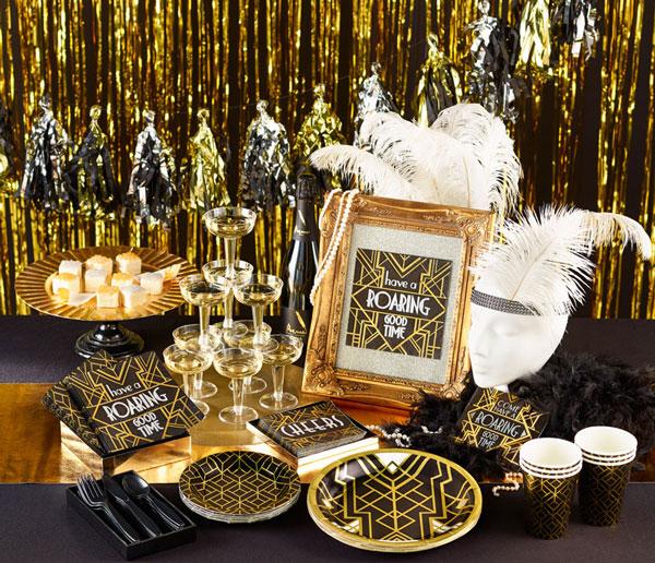 רעיונות למסיבת New Year תקופתית
