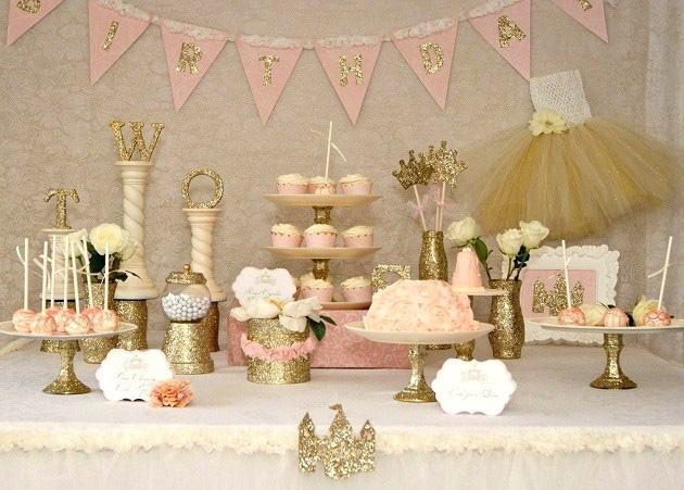 הישרדות Pinterest: עיצוב שולחן יום הולדת שנה