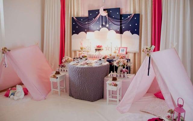 טיפים ורעיונות למסיבת פיג'מות - קישוט חדר השינה