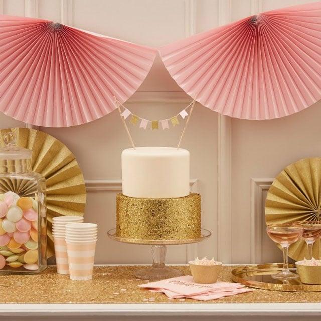רעיונות לבת מצווה - בת מצווש Pink & Gold