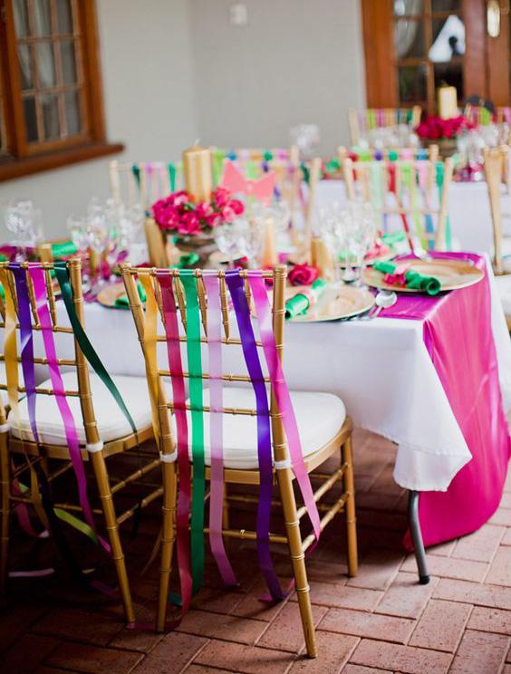 שדרוג הכיסאות בחתונה קשת