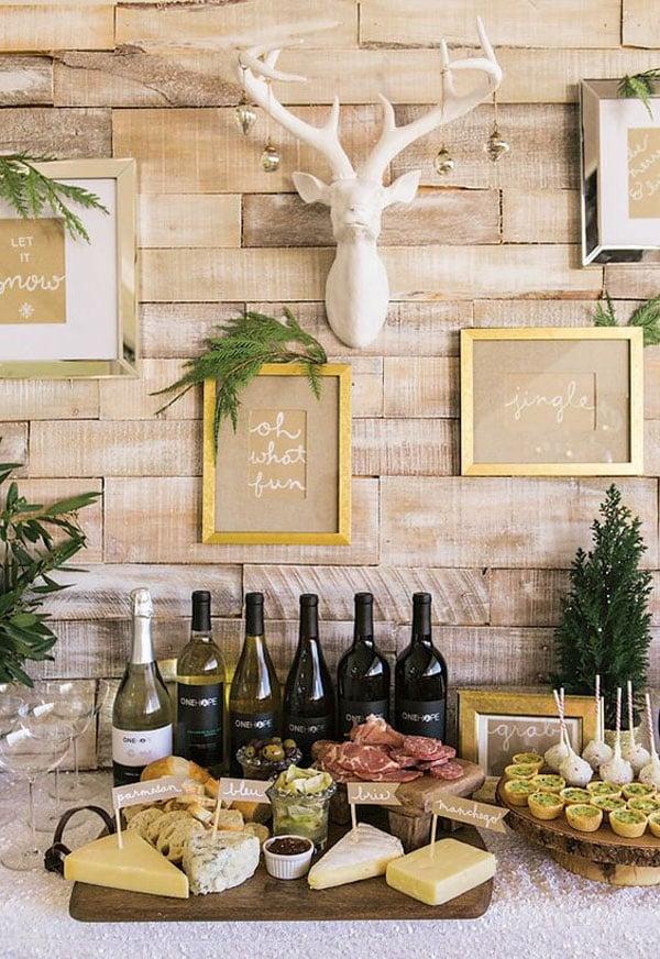 איך לתכנן מסיבת סילבסטר - בופה גבינות