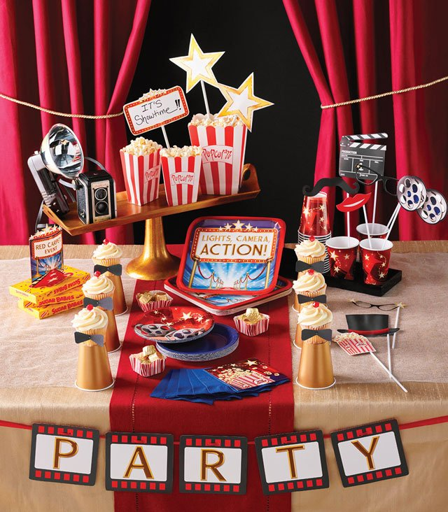 יום הולדת שש עשרה המתוק - ערב סרט