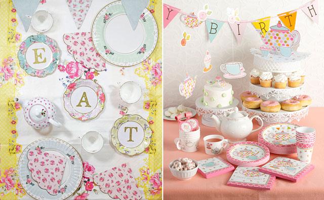 רעיונות ליום הולדת 16 - מסיבת תה