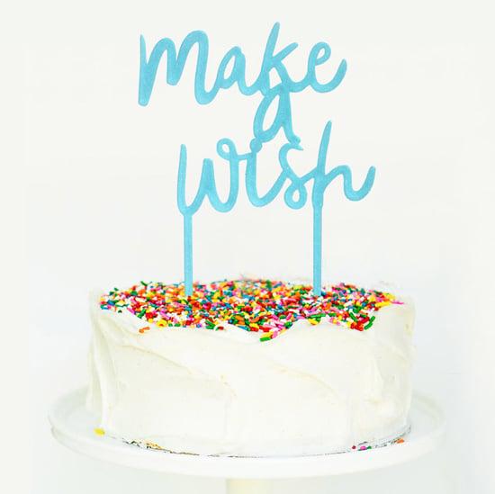 קישוט עוגה עם טופר