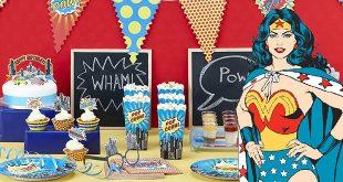 רעיונות ליום הולדת Wonder Woman