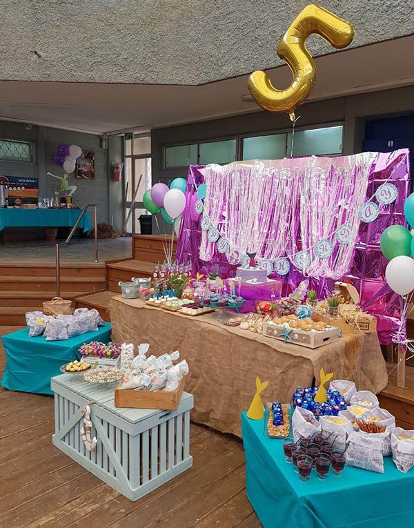 מסיבת יום הולדת בת הים הקטנה