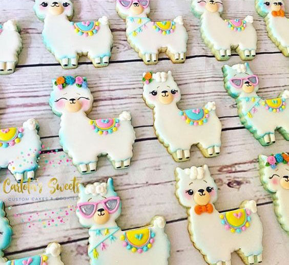 מסיבת לאמה - עוגיות לאמה