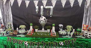 מסיבה אמיתית - יום הולדת כדורגל