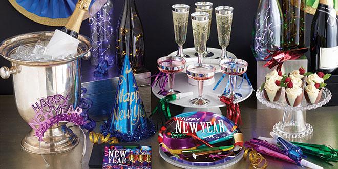 פריטים לעיצוב מסיבת New Year