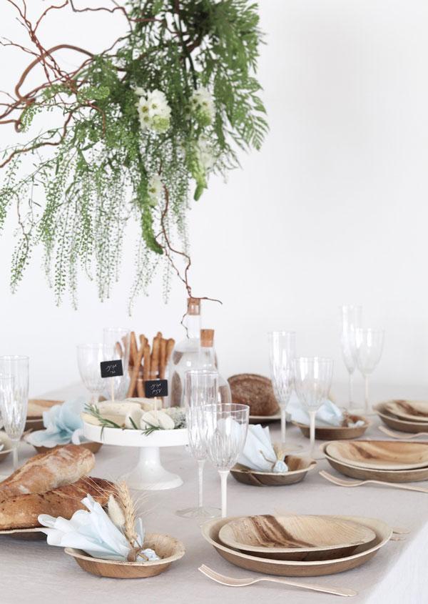 עיצוב שולחן חג שבועות - מאפים