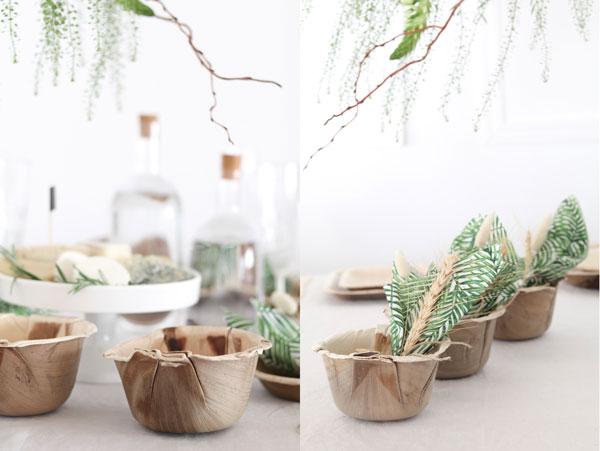 עיצוב שולחן חג שבועות - גביעים עמוקים