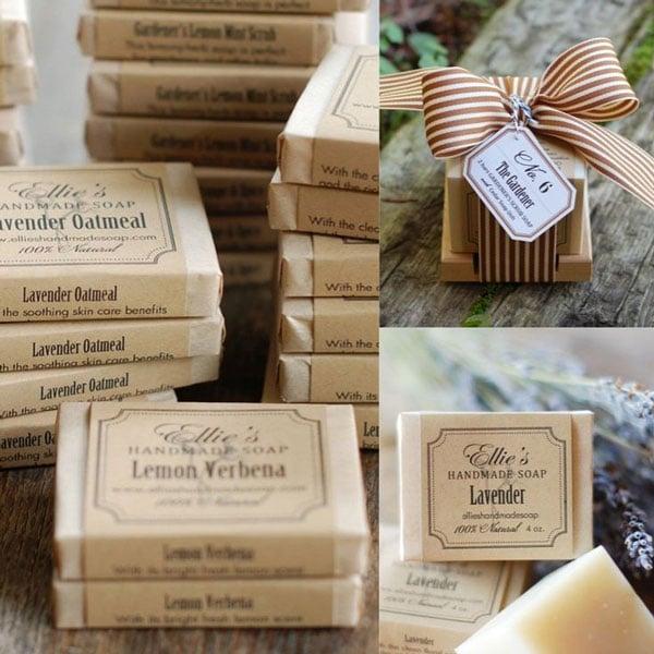 מתנות יצירתיות לאורחים בחתונה - סבון בעבודת יד