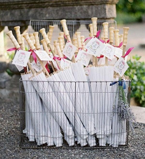 מתנות יצירתיות לאורחים בחתונה - שמשיות