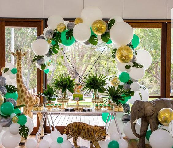 רעיונות לעיצוב מסיבה אפריקאית - הוסיפו חיות