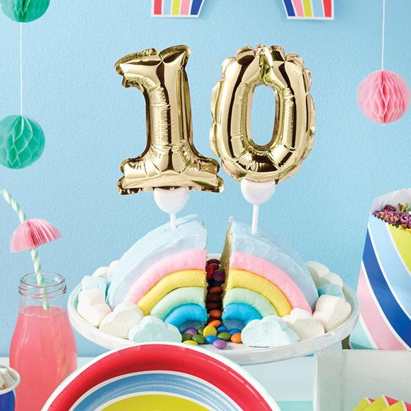 שם מעבר לקשת - מסיבת קשת - עוגת יום הולדת