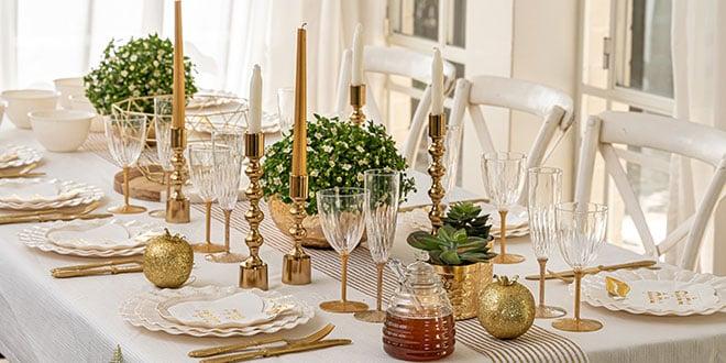 עיצוב שולחן ראש השנה