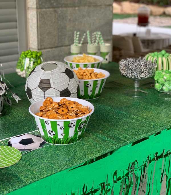 יום הולדת כדורגל - קערות