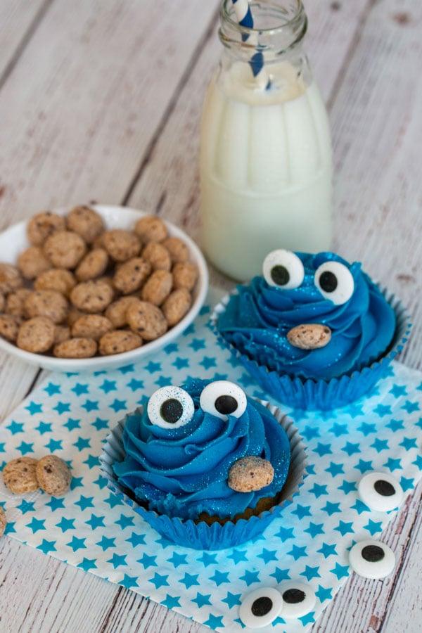 סוכריות לקישוט בצורת עיניים - קאפקייקס מפלצת העוגיות