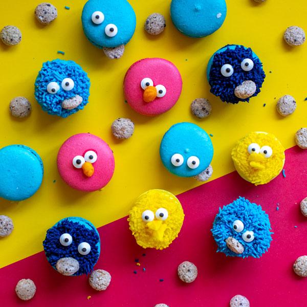 סוכריות לקישוט בצורת עיניים - מפלצת העוגיות