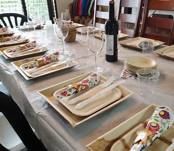 יום נישואין - עיצוב שולחן