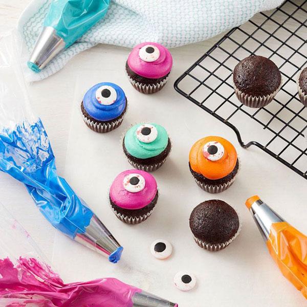 סוכריות לקישוט בצורת עיניים DIY