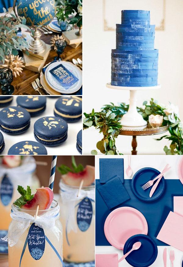 טרנדים בענף המסיבות 2020 - צבע השנה כחול קלאסי