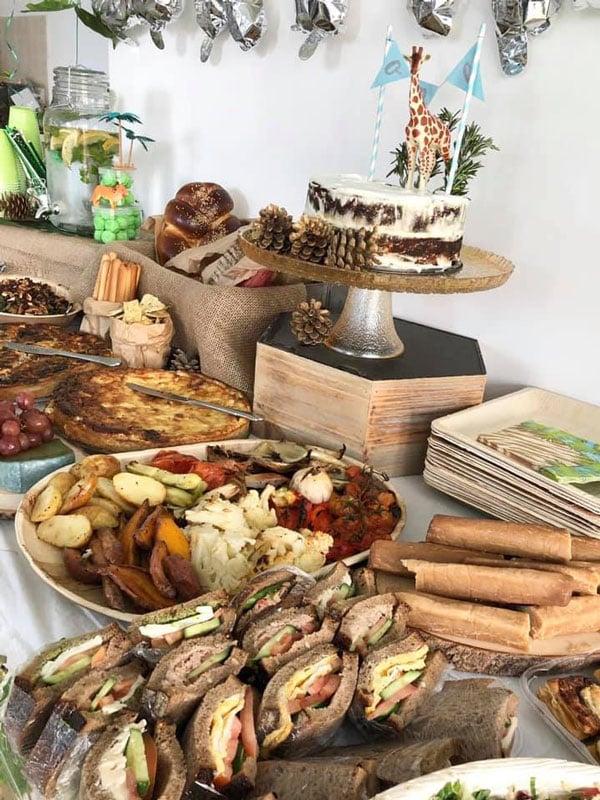 מסיבת ספארי - בופה מאכלים
