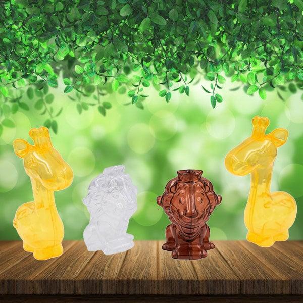 10 מוצרים לעיצוב מסיבת ספארי - מיני קופסאות בצורת חיות