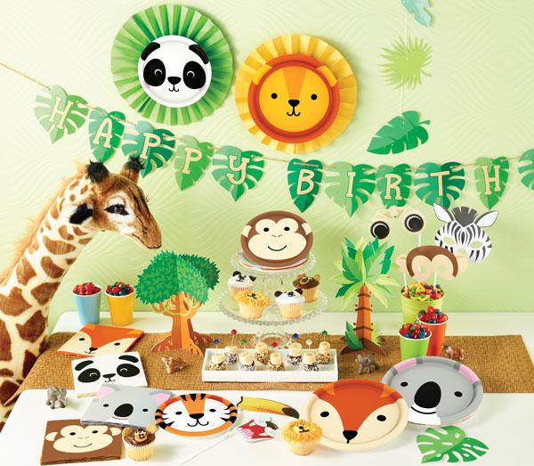 יום הולדת חיות מסיבה
