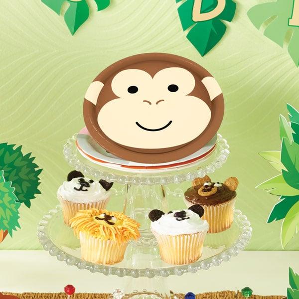 יום הולדת חיות מסיבה צלחות קטנות