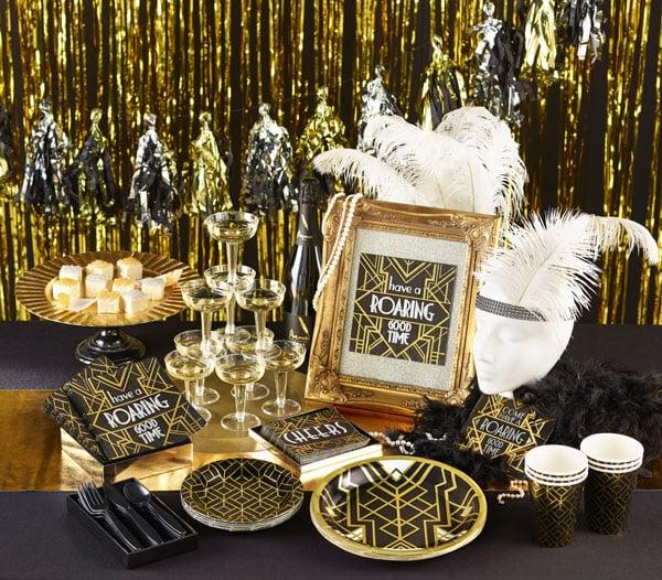 רעיונות למסיבת New Year בבית - ערכו שולחן