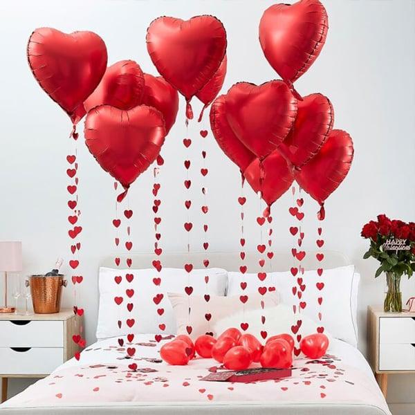 9 פריטי חובה ליום האהבה - בלונים